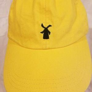 Dutch bros Coffee Oregon Strapback yellow hat